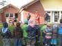 St. Martin besucht die Kinder