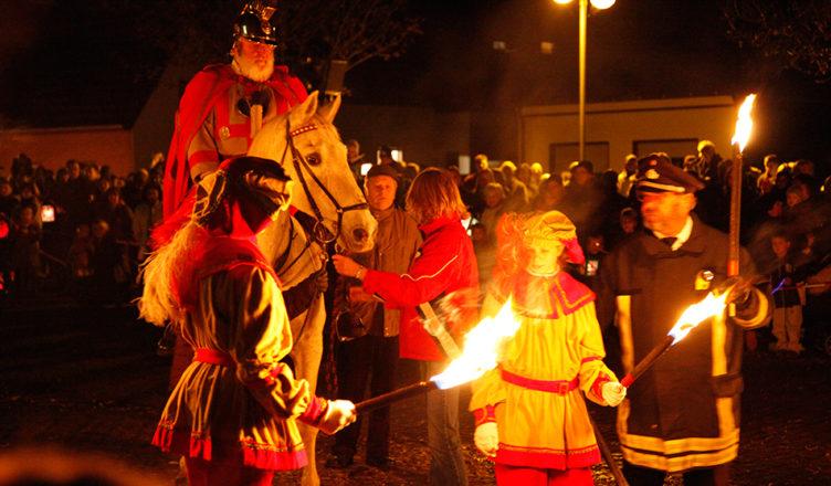St. Martinsfest in Sonsbeck, Niederrhein 2009
