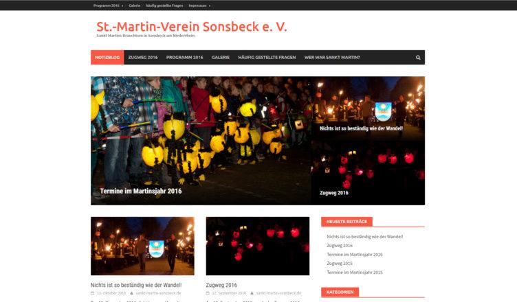 neues Layout von sankt-martin-sonsbeck.de